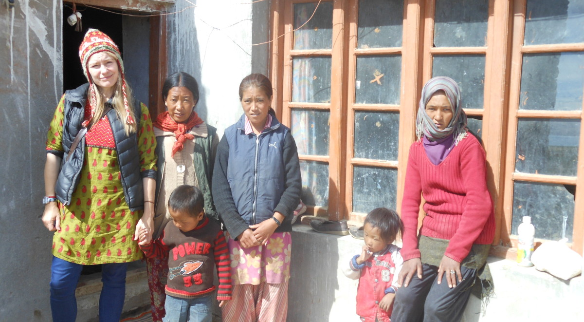 Himalayan children visit April 2015