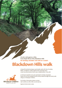Backdown Hill walk 2016